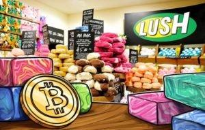 Lush Cosmetics Bitcoin